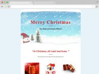 Christmas Email - Responsive Christmas Email Template