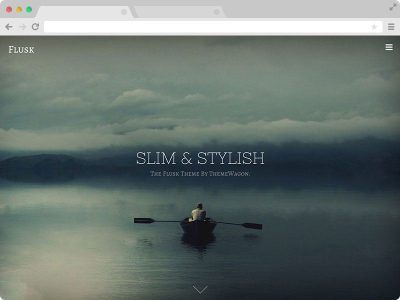 Flusk A Responsive Multipurpose Website Template - Free responsive personal website templates
