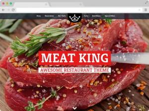 Responsive Restaurant Website Design Template