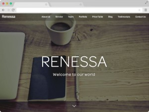 Awesome agency template by Themewagon - A free responsive  bootstrap template - Renessa