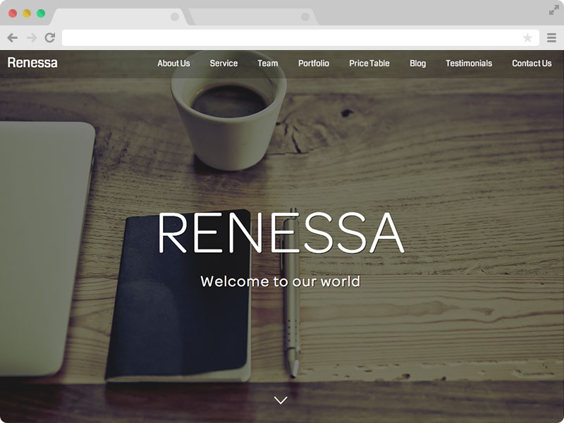 responsive multipurpose bootstrap template