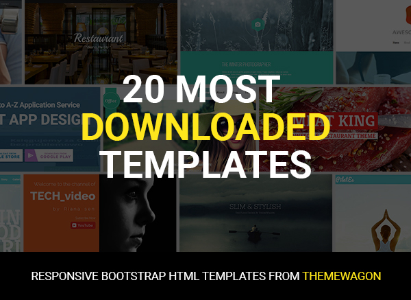 Free Responsive Bootstrap HTML5 Templates