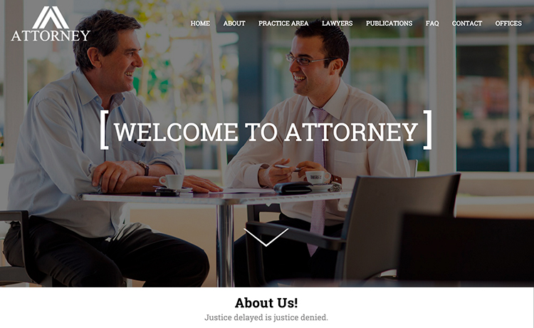 Lawyer Website HTML5 Template Free Download