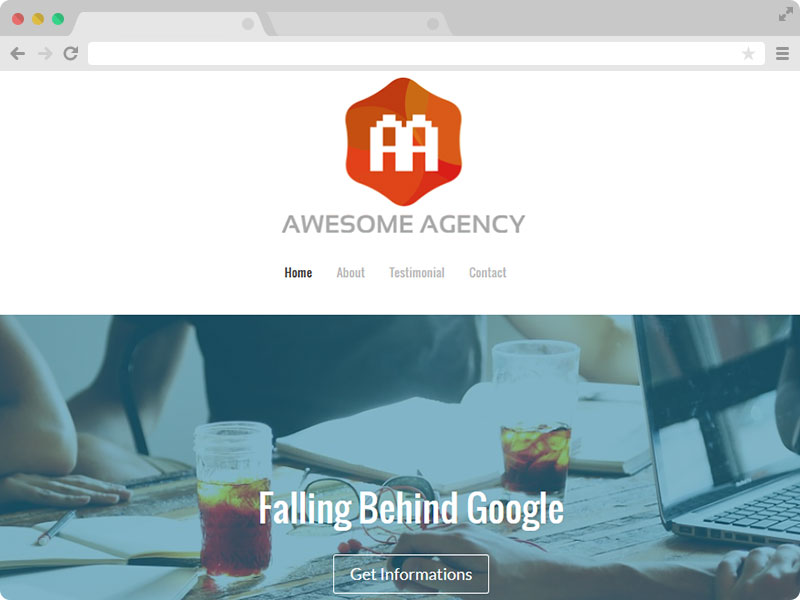Free HTML5 Agency Website Template Download
