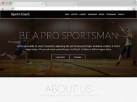 Free Coaching Website HTML5 Template