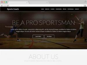 Free Coaching Website HTML5 Template