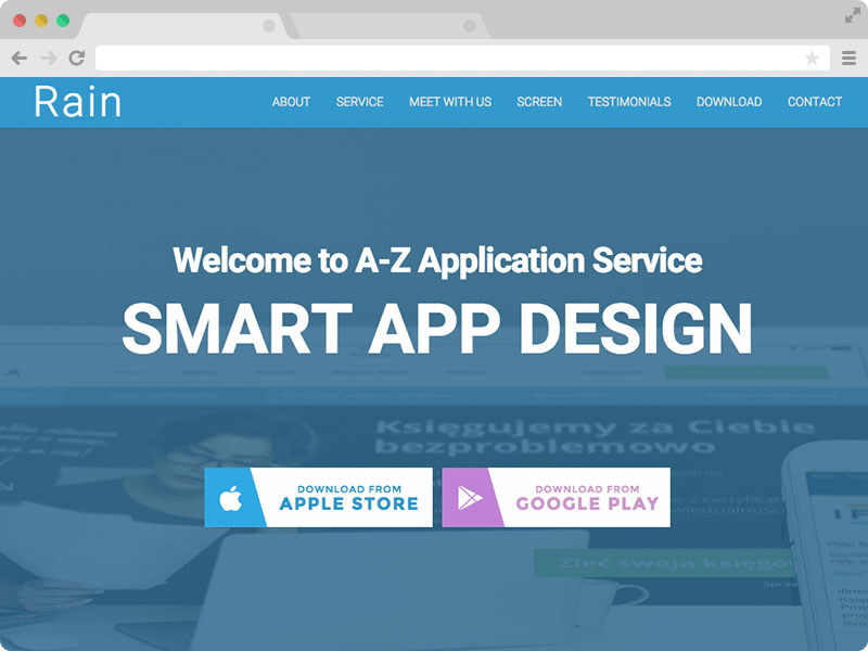 100 Best Responsive Free One Page Bootstrap Template with HTML5 of ...