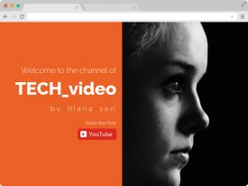 Youtube Marketer Responsive HTML5 Template - Premium template