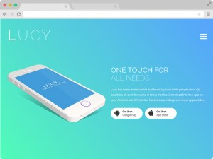 Best-Free-Responsive-HTML5-App-Landing-Page-Lucy