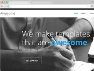 Free One Page Responsive HTML5 Template