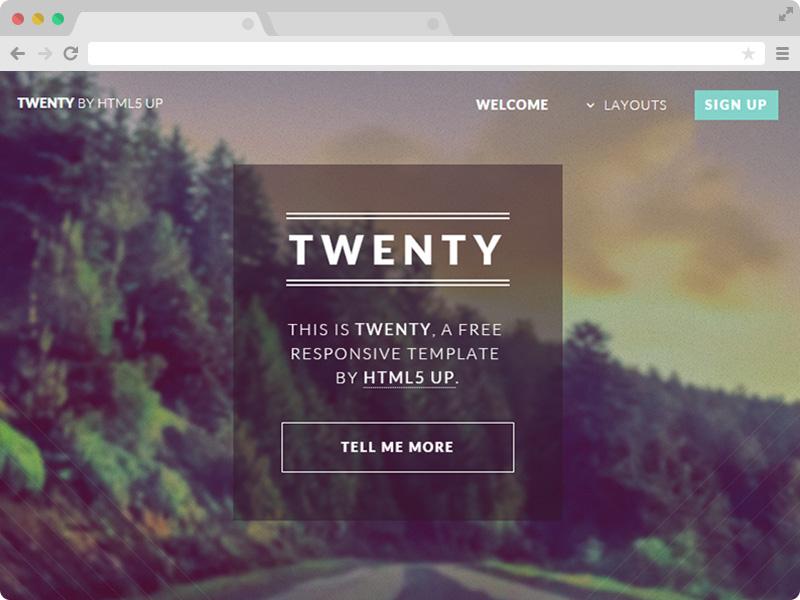 open source websites templates