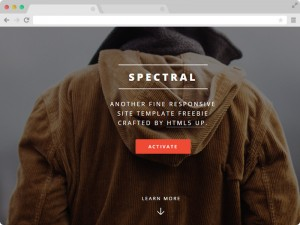 Spectral-Free-Mobile-Friendly-HTML5-Website-Template