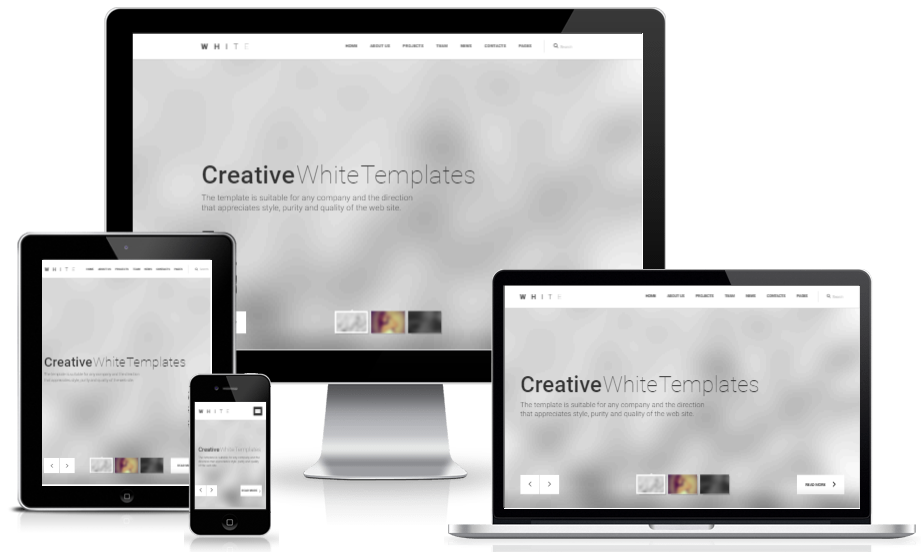White Pro - A Free Creative Multipurpose HTML5 Template