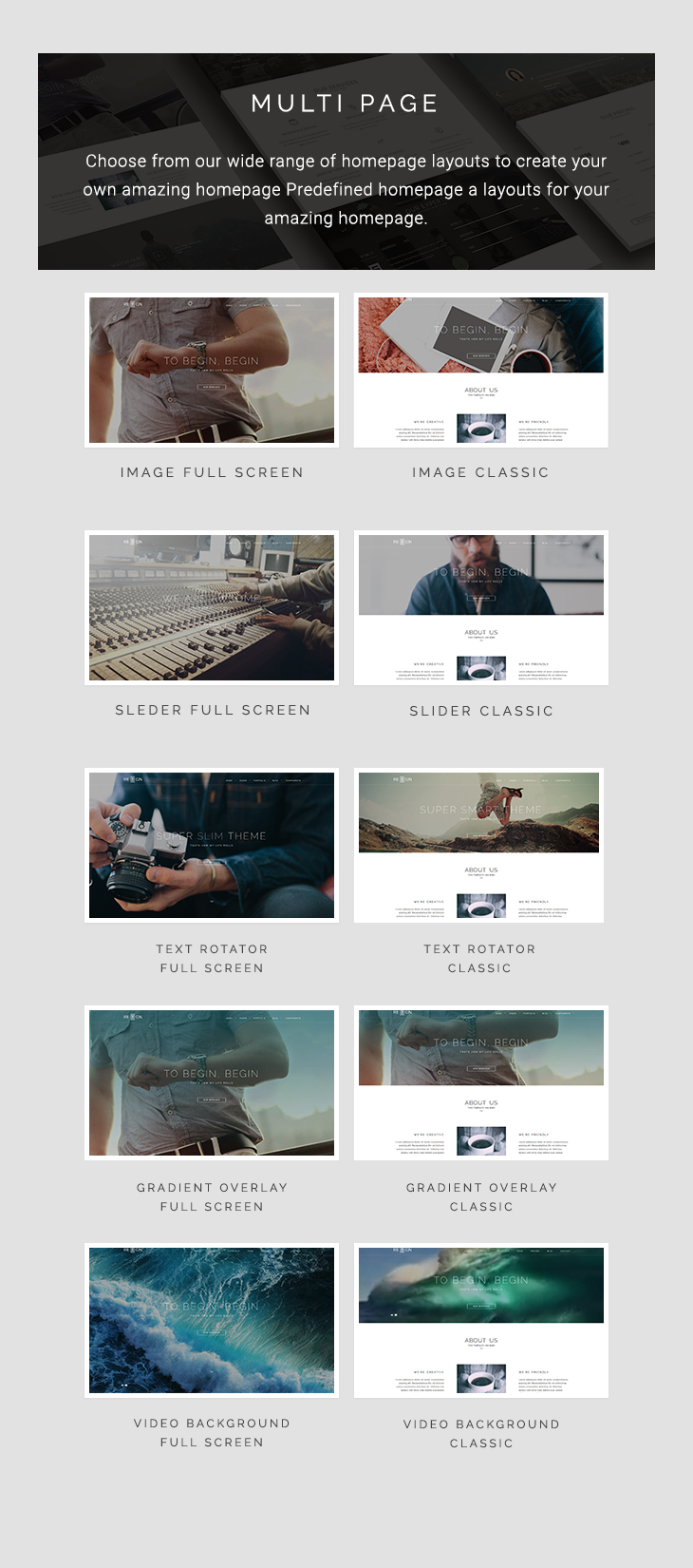 Reign Pro Multi-Page Agency HTML5 Template
