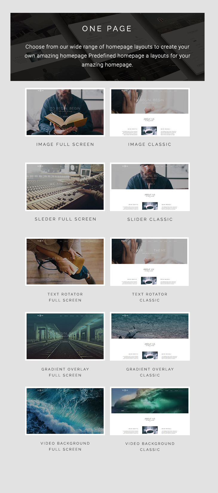 One Page Agency Website HTML5 Bootstrap 3 Template