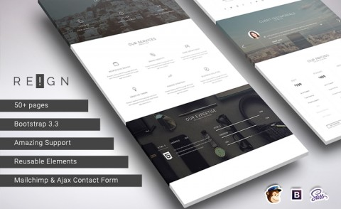 Premium Corporate Agency HTML5 Template