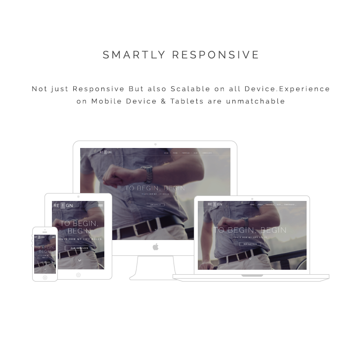 Responsive HTML5 Agency Template