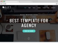 Responsive Corporate Agency HTML5 Template