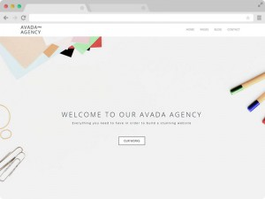 Avada Pro Agency Free Responsive HTML5 Template