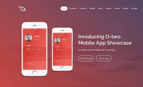 Responsive App Landing HTML5 Template