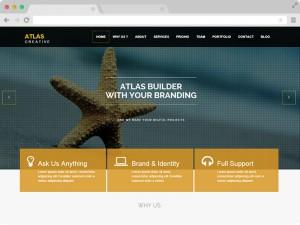 Free Responsive Parallax HTML5 Business Theme