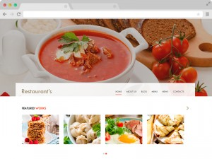 Spicy Free Bootstrap HTML5 Restaurant Template