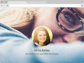 Free Creative Resume CV Portfolio HTML5 Template
