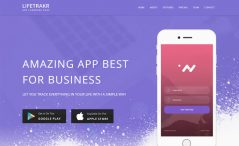 Free Responsive Bootstrap App Landing Page Template