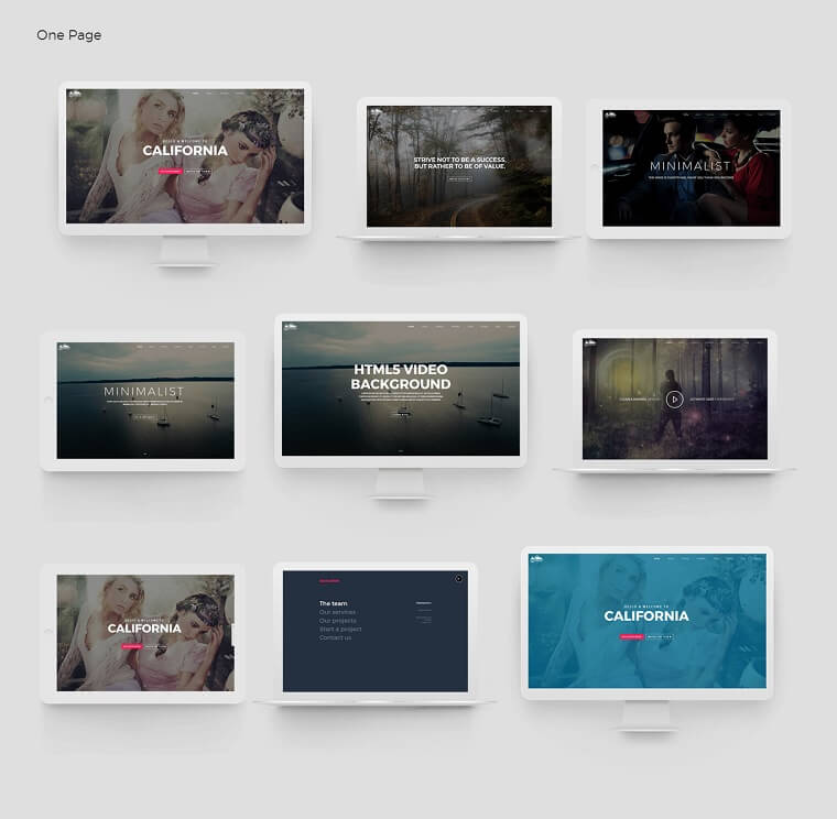 High Quality Multipurpose HTML5 Template