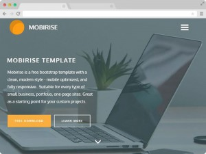 Free Bootstrap One Page Multipurpose Template