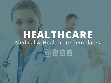 healthcare medical hospital responsive templates