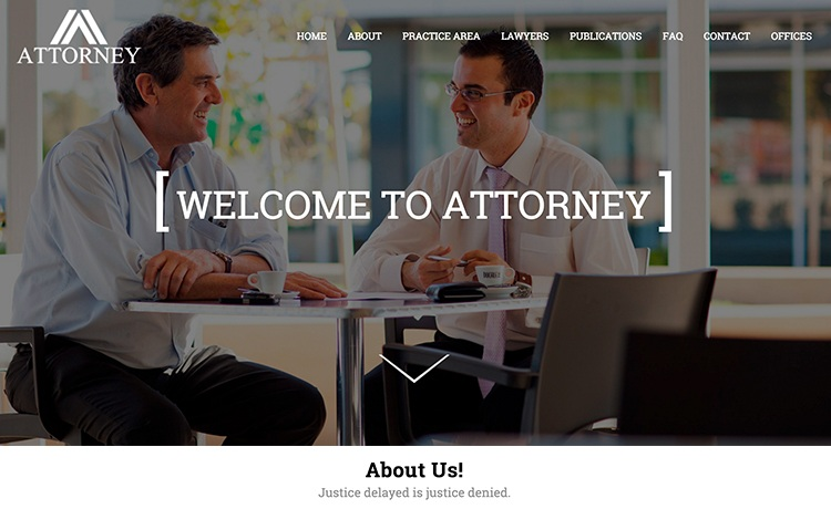 Lawyer Website HTML5 Template