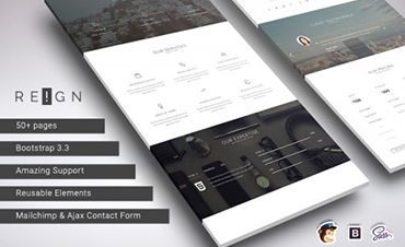 Reign Pro - Premium Corporate Agency HTML5 Template