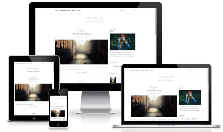 Activello - Stunning Free Responsive WordPress Blog Theme