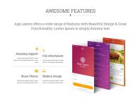 Free responsive Bootstrap App Landing HTML5 Template