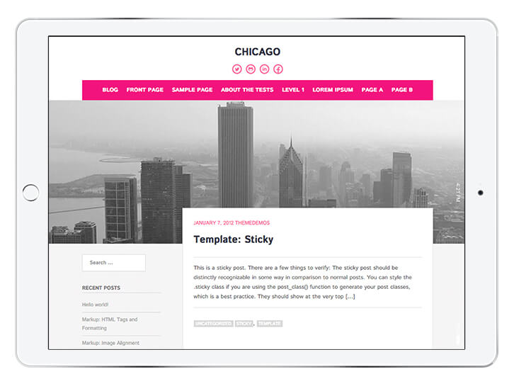 Chicago---wordpress-theme-for-a-beautiful-blog
