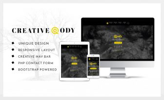Cody the creative bootstrap template for small agency