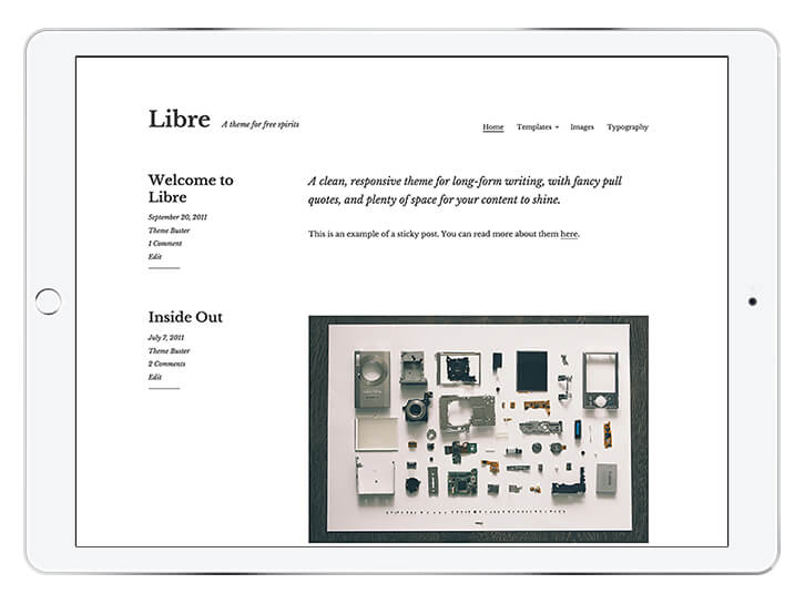 libre---wordpress-theme-for-a-beautiful-blog