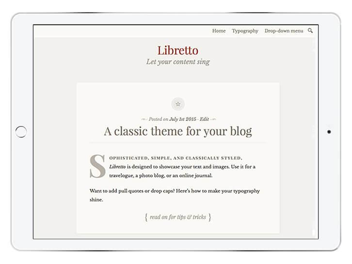 libretto---wordpress-theme-for-a-beautiful-blog