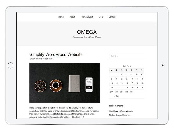 omega---wordpress-theme-for-a-beautiful-blog