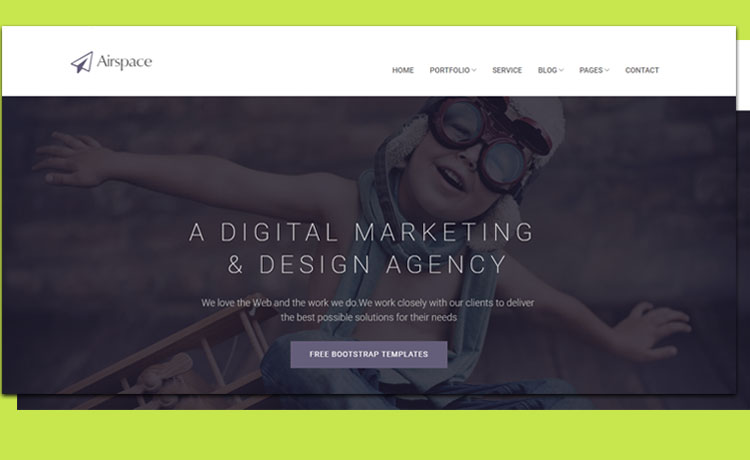 Free Responsive Bootstrap Business Agency Template