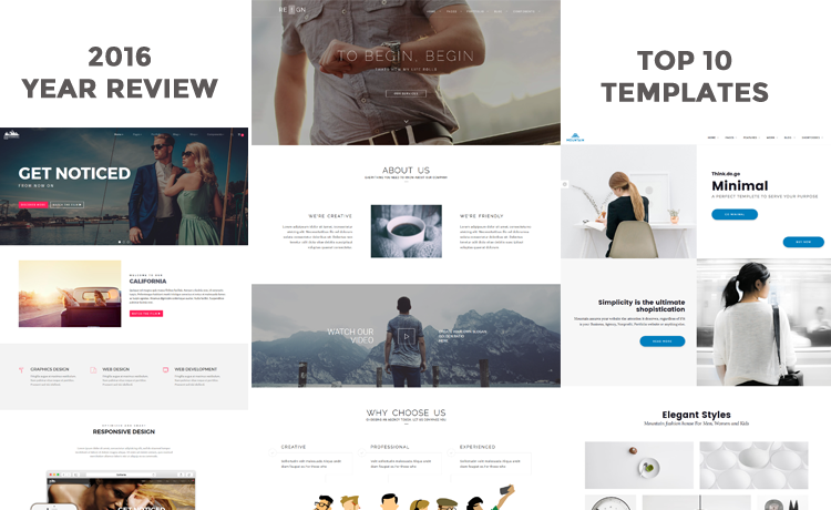 Premium Responsive Website HTML5 Bootstrap Templates