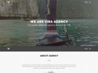 Free One Page Office Startup Agency Bootstrap HTML5 Website Template