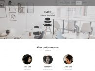 free creative web agency website template download