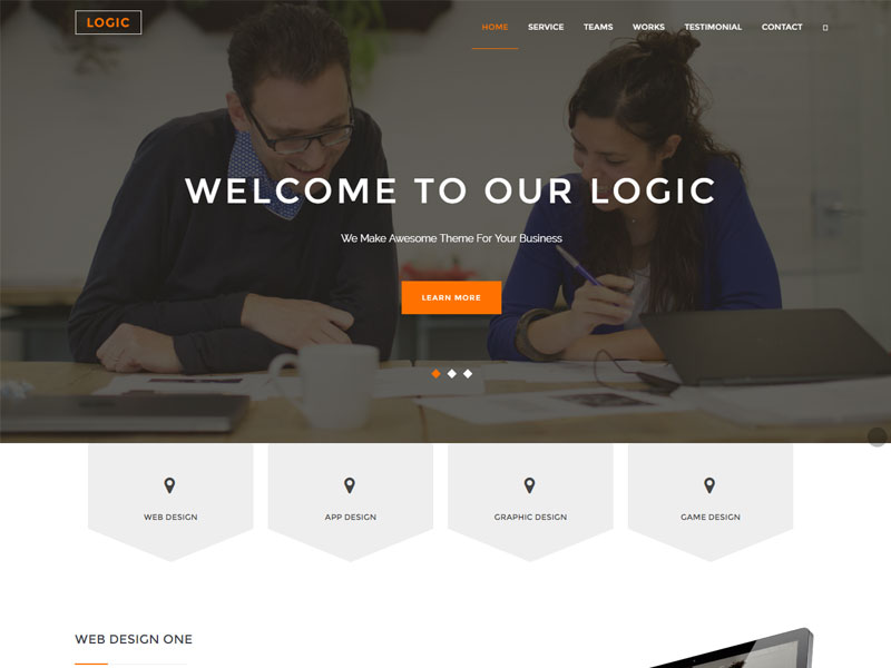 Free HTML5 Template for Multipurpose Websites