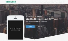 business html5 template free download