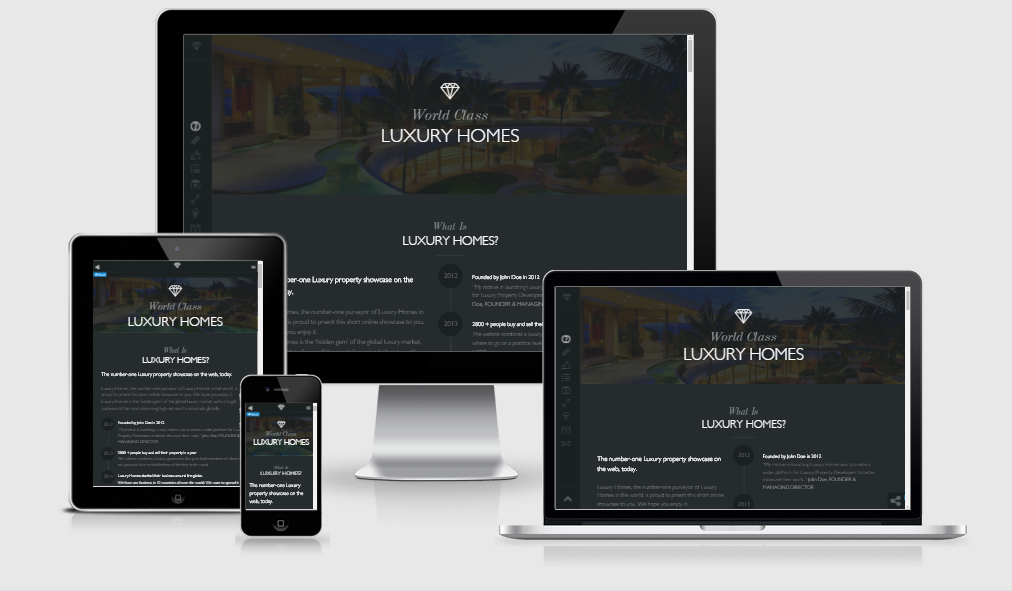Luxury - Free responsive template