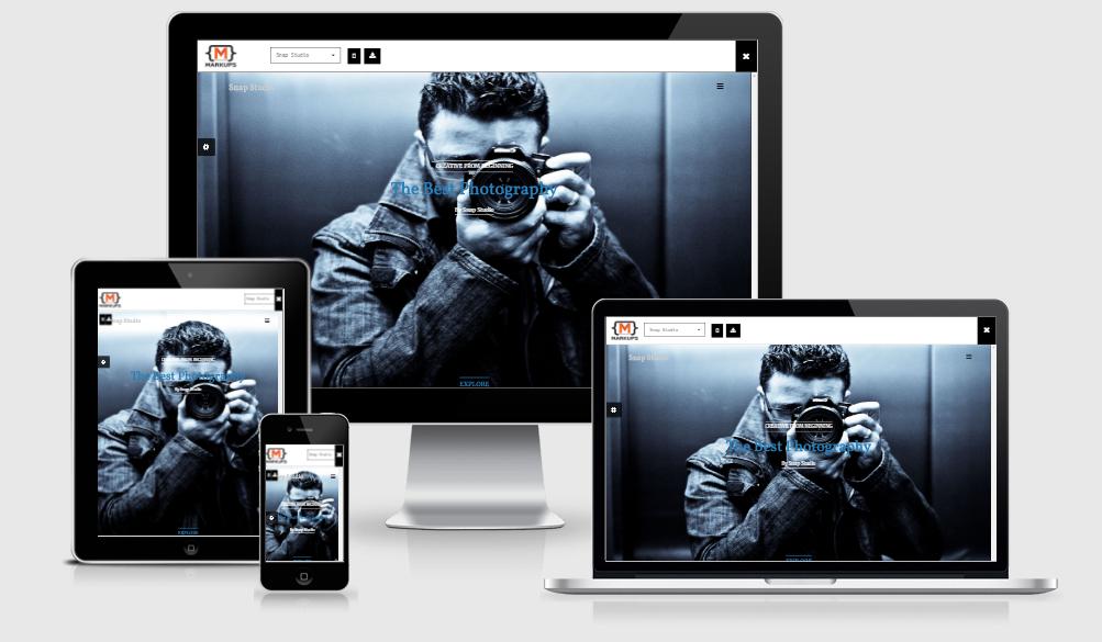 Snap Studio - Free responsive template