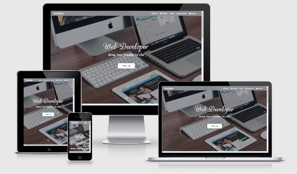 Developoer - Free responsive template
