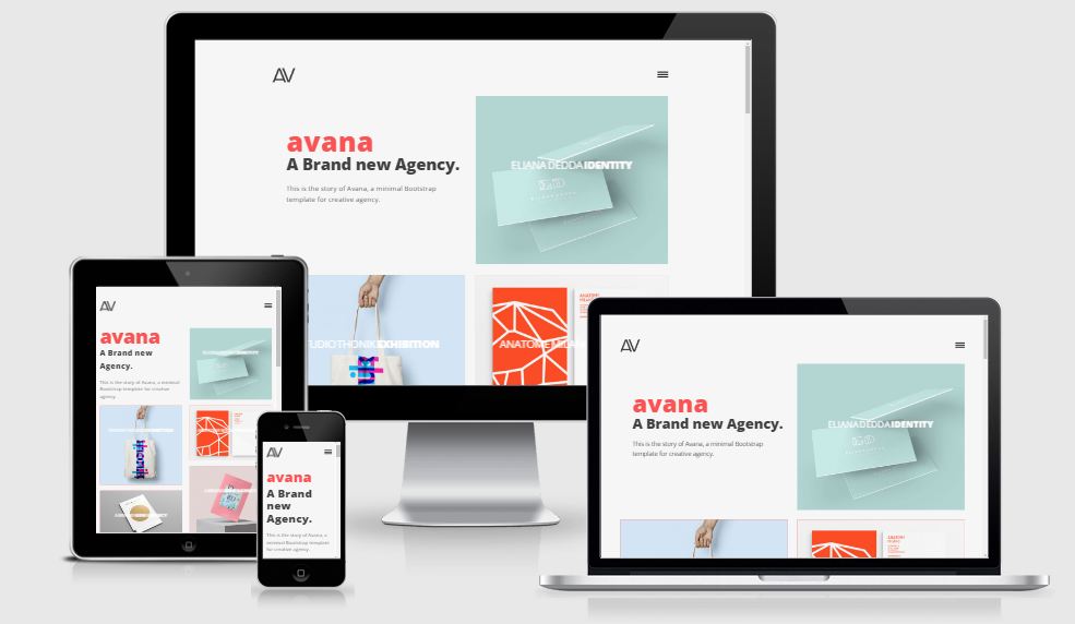 Avana - Free Responsive Template